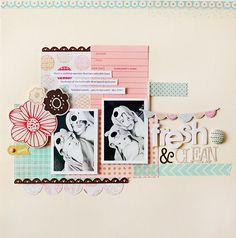 Fresh & Clean I BG Paper Cottage Collection I Kelly Noel