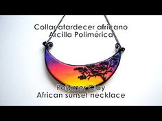 Tutorial para aprender a hacer un collar inspirado en África utilizando arcilla polimérica y alambre plano. Más información en mi blog: http://www.elrinconde...