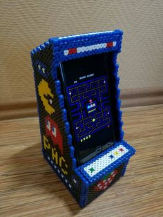 PAC MAN arcade game phone holder - left side 2