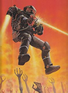 "Guffey, Elizabeth E. ""Retrofuturism, Steampunk and Science Fiction's Memory."" In The Oxford Handbook of Science Fiction. Sci Fi Kunst, Science Fiction Kunst, Arte Sci Fi, 70s Sci Fi Art, Arte Tribal, Steampunk, Classic Sci Fi, Sci Fi Characters, Pulp Art"