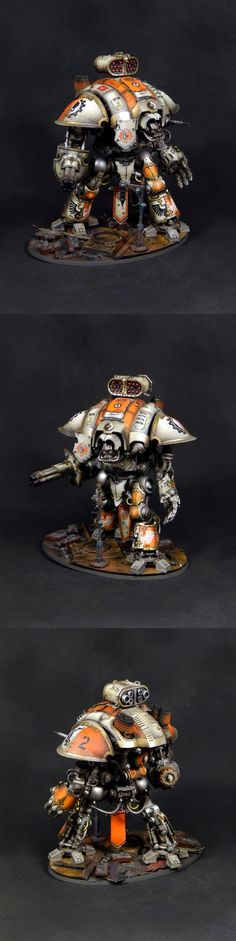 Orange Raven Imperial knight