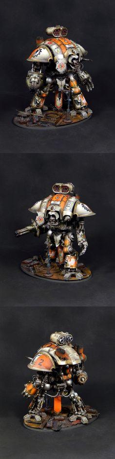 Orange Raven Imperial knight