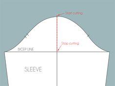 increasing and decreasing sleeve cap ease