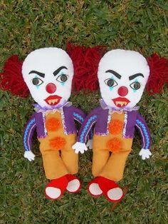 Handmade Dolls - It Clown