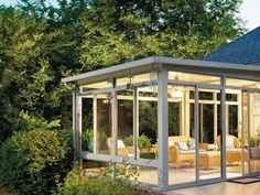 #MilwaukeeWindowInstallation Home Extension Design Plans Sunrooms, Sunroom  Ideas, Small Sunroom, Sunroom Dining