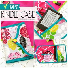 While They Snooze: DIY Kindle Case #KindleforKids #CleverGirls