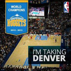 I'm taking the @Denver Nuggets