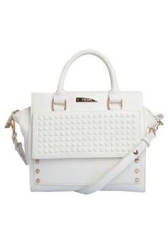 c59775c0e Bolsa Colcci Quadrada Branca Bolsas Colcci, Bolsa Branca, Calça Jeans,  Acessórios Femininos,