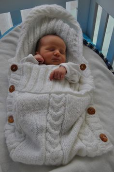 Love this, keeps baby warm in winter :)