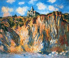 Claude Monet - Church at Varengeville, Morning - 1882