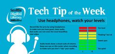 Learn 2 simple ways to improve your audio recordings in this week's Tech Tip!