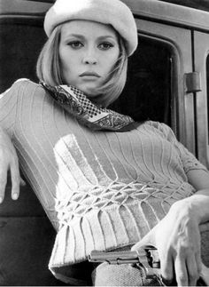 Faye Dunaway - 1967 - 'Bonnie and Clyde' - @~ Mlle