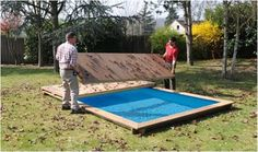 piscine on pinterest decks mobiles and pools. Black Bedroom Furniture Sets. Home Design Ideas