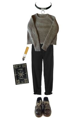 """Minus"" by duvide ❤ liked on Polyvore featuring Dr. Martens, GG 750, women's clothing, women's fashion, women, female, woman, misses and juniors"