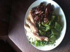 dinner Asparagus, Steak, Drink, Dinner, Vegetables, Food, Dining, Studs, Beverage