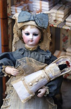 """The Grovian Doll Museum would like to help collectors learn about, and be fascinated by a doll's life. We hope you will enjoy this article by Michael Canadas, """"The Governess - A Life Lived Up and Down the Stairs."""" http://www.carmeldollshop.com/images/canadaspdfs/governess2.pdf"""