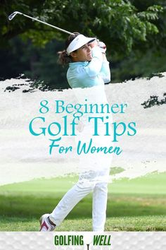 8 Beginner golf tips for women. Looking to get started playing golf? Check out these women's golf tips to help you play better golf. golf 8 Beginner Golf Tips For Women Golf Mk3, Golf Party, Golf Fotografie, Short Game Golf, Golf Tips Driving, Golf Putting Tips, Golf Photography, Golf Instruction, Golf Tips For Beginners