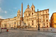 La #PiazzaNavona es una de las más conocidas de #Roma, de los mejores ejemplos del barroco romano y una de las más bonitas del mundo. http://www.viajararoma.com/lugares-para-visitar-en-roma/piazza-navona/ #turismo #viajar #Italia