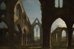 Carl Gustav Carus - Tintern Abbey