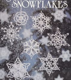 16 Snowflakes Crochet Patterns, I love snowflakes...anybody wanna make some of these for me???
