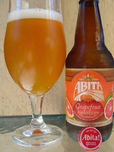 AbitaGrapefruit Harvest IPA | delicious, but too bad it's only seasonal