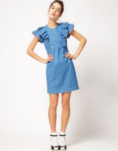 Dress from denim
