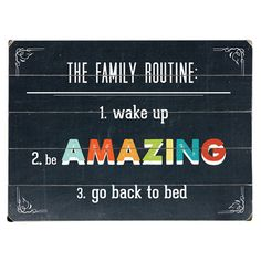 A quaint addition to your home bar or bedroom, this plank-style wall decor showcases a whimsical multicolor text motif.   Product: Wal...