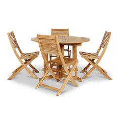 Roscana Wooden 4 Seater Dining Set   Departments   DIY at B&Q