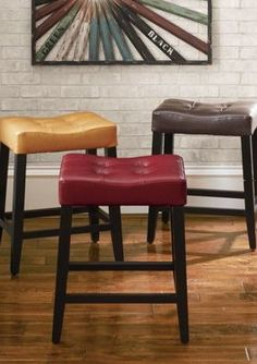 Carlton Bar Stool - I think one of each color would be nice, I'm indecisive on choosing just one!