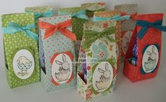 Everybunny Easter Gifts   Everybunny stamp set and colored with Stampin' Up! marker pens  By:sparklycards