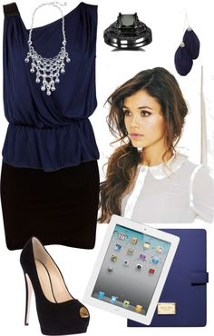 """""""Office Attire"""" by hannahintheuk on Polyvore"""