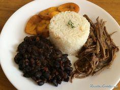 Pabellón criollo venezolano http://www.recetasgratis.net/receta-de-pabellon-criollo-venezolano-56850.html