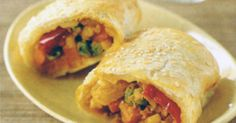 With an assortment of all our favourite vegetables, these tasty vegetarian pastries will be the hit of the party.