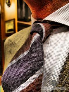 Great knit tie.