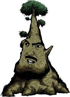 The Great #DekuTree from #LegendofZelda #WindWaker with a #AreYouSerious Face.