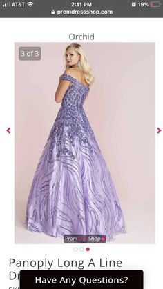 Queenly | Buy and sell prom, pageant, and formal dresses Panoply Dresses, Best Gowns, Size 14, Plus Size, Strapless Dress Formal, Formal Dresses, A Line Gown, First Girl, Light Purple