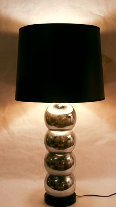 Reposed NY - Loving the 1970's vintage chrome 4 sphere lamp in store at Reposed NY  www.reposedny.com