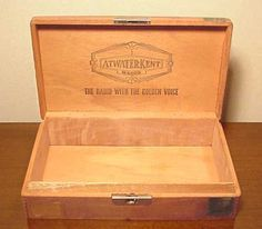 How to Make Jewelry Boxes From Cigar Boxes Cigar boxes Fun