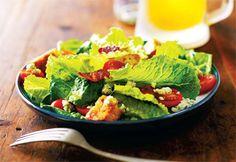 Salade César au bacon et au roquefort #Recettes