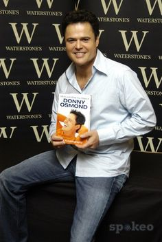 DONNY OSMOND signing his new book at Waterstones on Oxford StreetLondon, England - 06.09.05