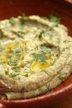 white bean dip recipe  by daveleb, via Flickr