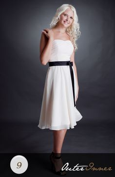 A-Line Chiffon Drop Sweetheart Bridesmaid Dress Style Code: 02549