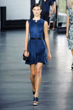 The New York Spring 2015 Runway Report. Jason Wu Spring 2015. Summer Suede. Lots of Navy.