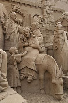"BEAUTIFUL DETAILED SAND ""NATIVITY"" Flickr - Photo Sharing!"