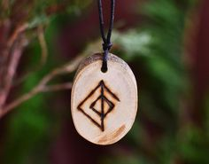 Viking Runes Necklace Love Amulet Attraction Love Charm Norse Wicca