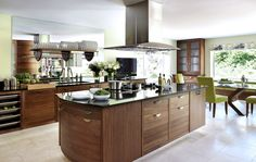 Smallbone of Devizes | Walnut & Silver Kitchen Collections | Designs & Ideas