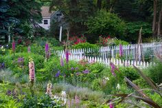 Around the vegetable garden at Brandywine Cottage