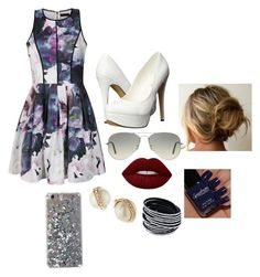 """""""Untitled #201"""" by awesthoff0513 on Polyvore featuring Ally Fashion, Michael Antonio, Ray-Ban, Kate Spade and Lime Crime"""