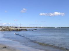 Crescent Beach in Lunenburg County, Nova Scotia is one of a very few beaches in the province where you can actually drive your vehicle on the beach. Very popular with local and summer residents of the area.