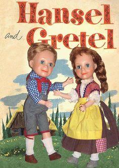 "1954 Horsman 15"" Hansel & Gretel"